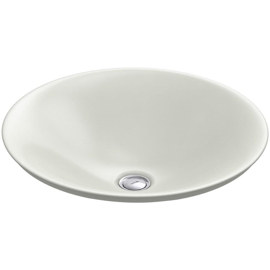 KOHLER Carillon Dune Vessel Rectangular Bathroom Sink