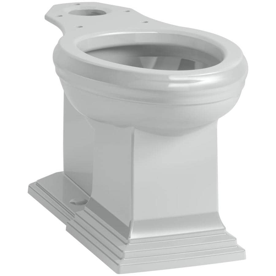 KOHLER Memoris Standard Height Ice Grey 12 Rough-In Elongated Toilet Bowl