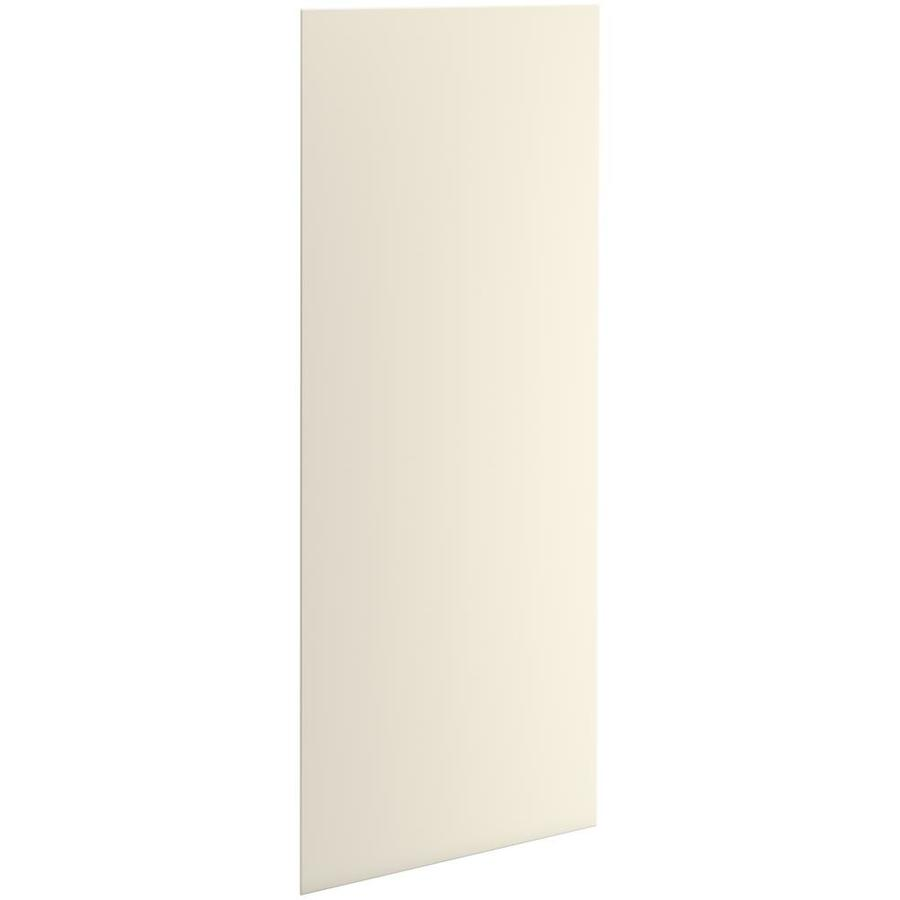 KOHLER Choreograph Almond Shower Wall Surround Side and Back Panels (Common: 32-in x .1875-in; Actual: 96-in x 32-in x 0.1875-in)
