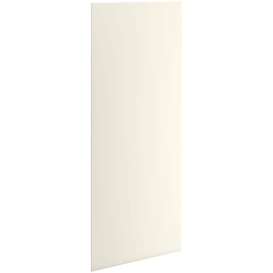 KOHLER Choreograph Biscuit Shower Wall Surround Side and Back Panels (Common: 36-in x .1875-in; Actual: 96-in x 36-in x 0.1875-in)