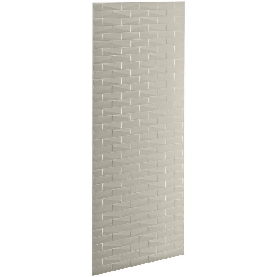 KOHLER Choreograph Sandbar Shower Wall Surround Side and Back Panels (Common: 36-in x .1875-in; Actual: 96-in x 36-in x 0.1875-in)
