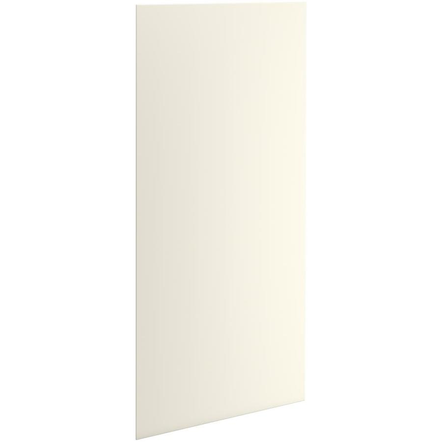 KOHLER Choreograph Biscuit Shower Wall Surround Side and Back Panels (Common: 42-in x .1875-in; Actual: 96-in x 42-in x 0.1875-in)