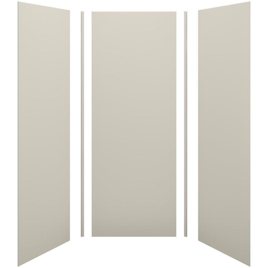 KOHLER Choreograph Sandbar Shower Wall Surround Side and Back Panels (Common: 36-in x 36-in; Actual: 96-in x 36-in x 36-in)