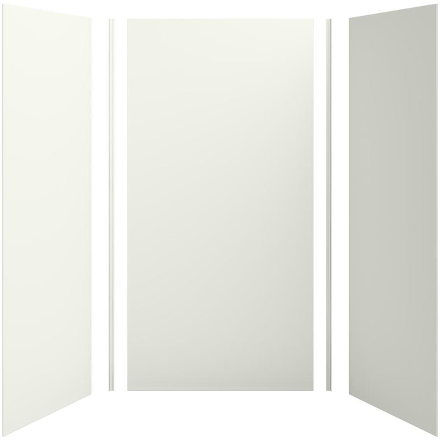 KOHLER Choreograph Dune Shower Wall Surround Side and Back Panels (Common: 48-in x 36-in; Actual: 96-in x 48-in x 36-in)