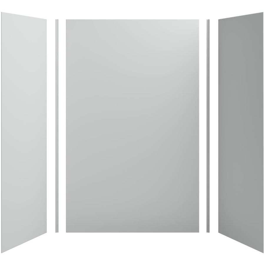 KOHLER Choreograph Ice Grey Shower Wall Surround Side and Back Panels (Common: 60-in x 32-in; Actual: 96-in x 60-in x 32-in)