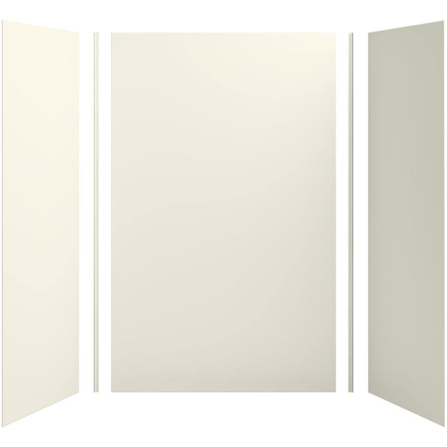 KOHLER Choreograph Biscuit Shower Wall Surround Side and Back Panels (Common: 60-in x 32-in; Actual: 96-in x 60-in x 32-in)