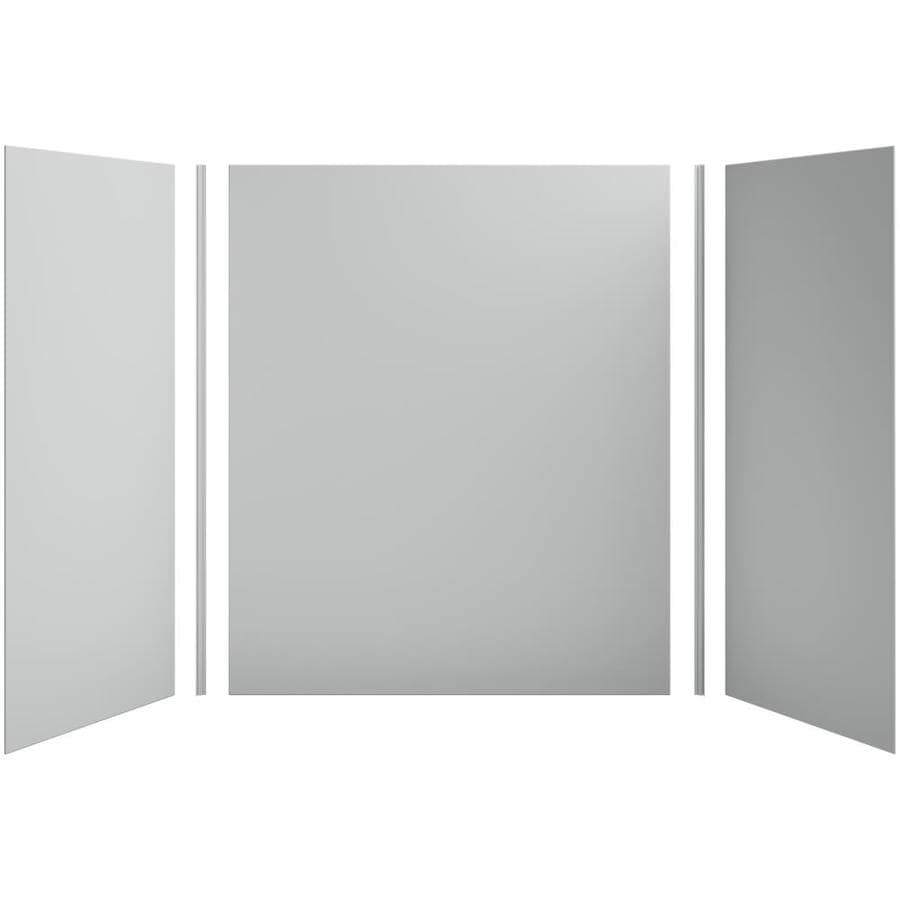 KOHLER Choreograph Ice Grey Shower Wall Surround Side and Back Panels (Common: 60-in x 36-in; Actual: 72-in x 60-in x 36-in)