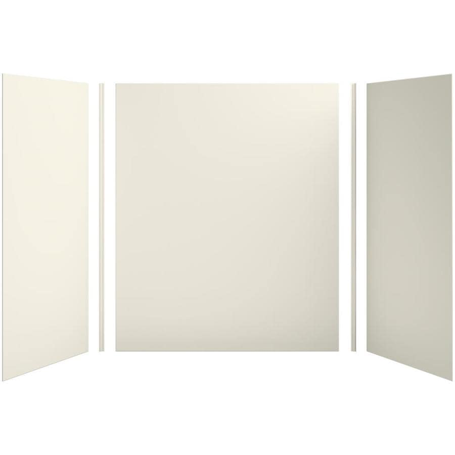 KOHLER Choreograph Biscuit Shower Wall Surround Side and Back Panels (Common: 60-in x 36-in; Actual: 72-in x 60-in x 36-in)