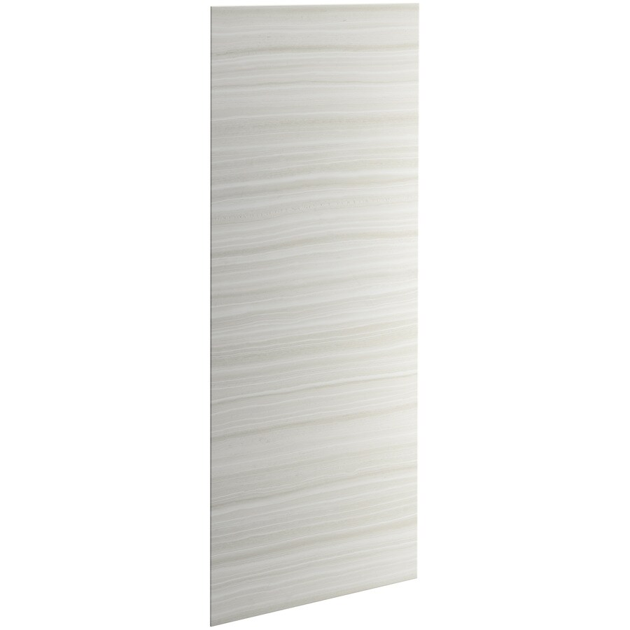KOHLER Choreograph Veincut Dune Shower Wall Surround Side and Back Panels (Common: 32-in x .1875-in; Actual: 96-in x 32-in x 0.1875-in)