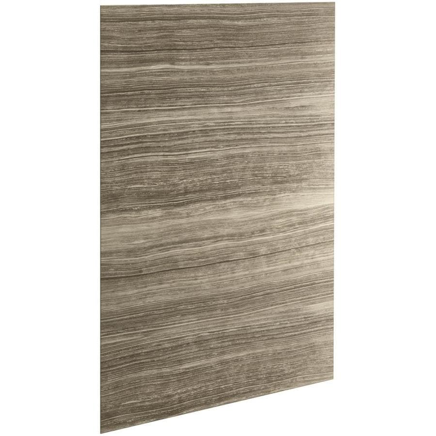 Shop KOHLER Choreograph Sandbar Shower Wall Surround Side Panel (Common: 60-in x .1875-in ...