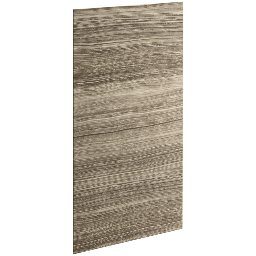 KOHLER Choreograph Sandbar Shower Wall Surround Side Panel (Common: 32-in x .1875-in; Actual: 72-in x 32-in x 0.1875-in)