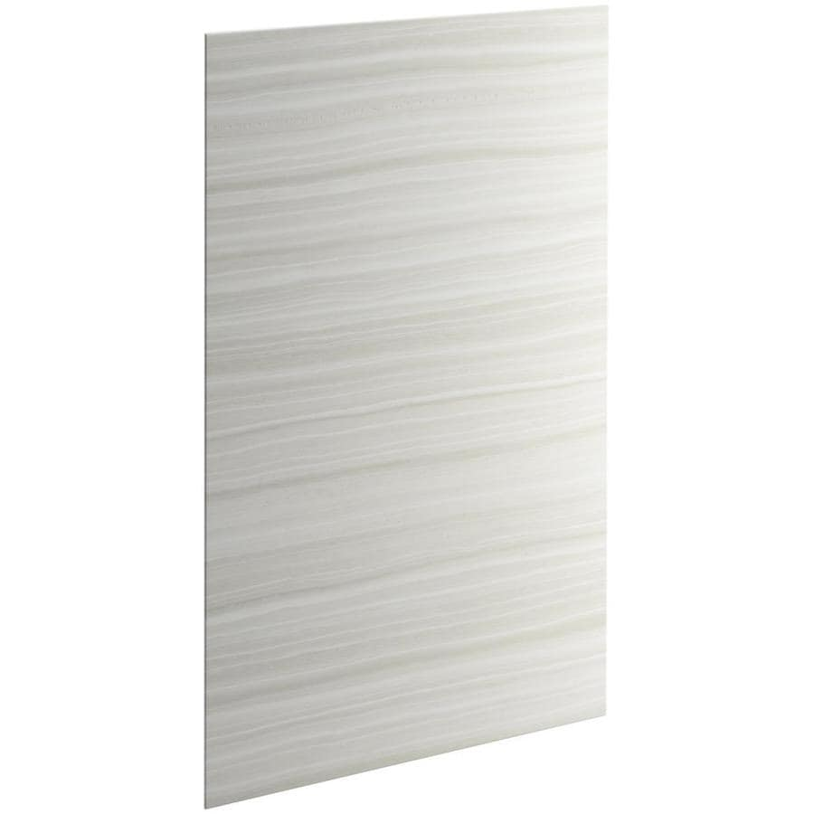 KOHLER Choreograph Veincut Dune Shower Wall Surround Side and Back Panels (Common: 42-in x .1875-in; Actual: 72-in x 42-in x 0.1875-in)
