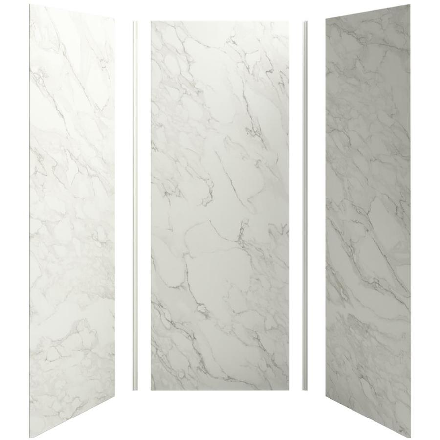 KOHLER Choreograph Crosscut Dune Shower Wall Surround Side and Back Panels (Common: 36-in x 36-in; Actual: 96-in x 36-in x 36-in)