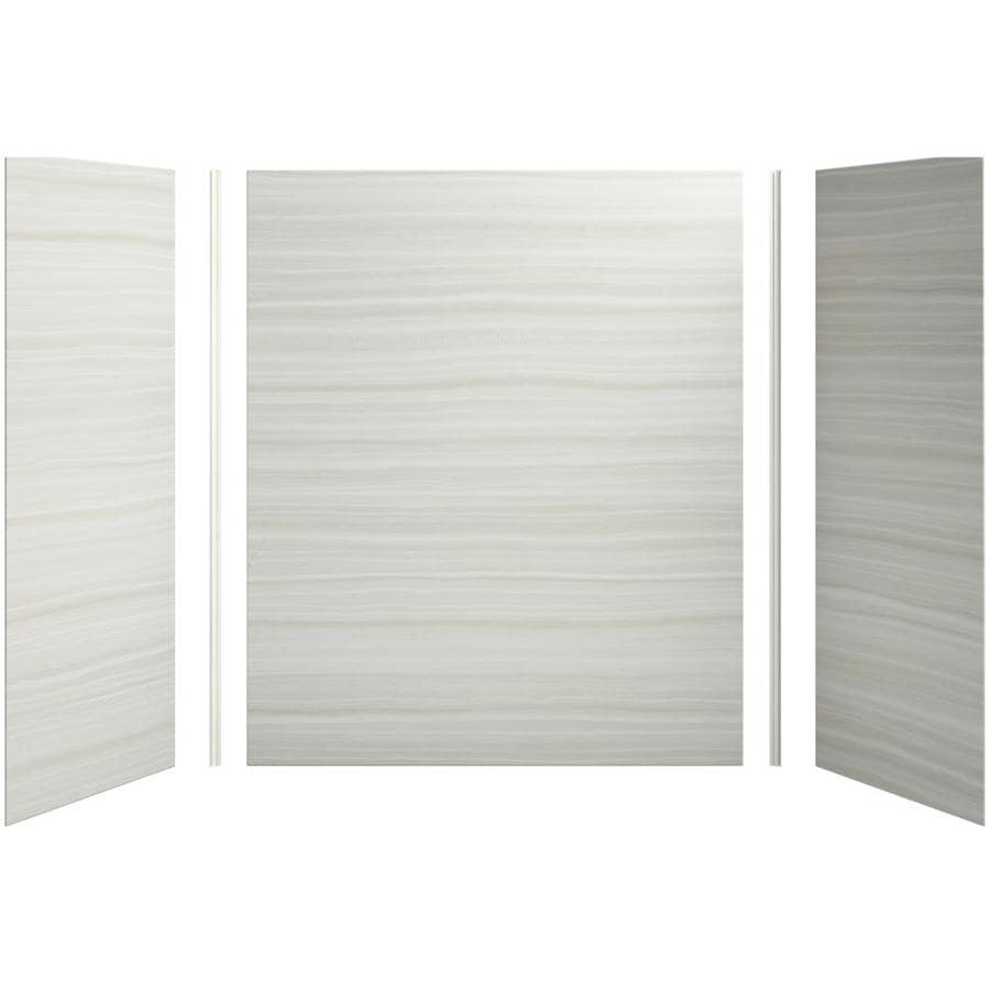 KOHLER Choreograph Veincut Dune Shower Wall Surround Side and Back Panels (Common: 60-in x 32-in; Actual: 72-in x 60-in x 32-in)
