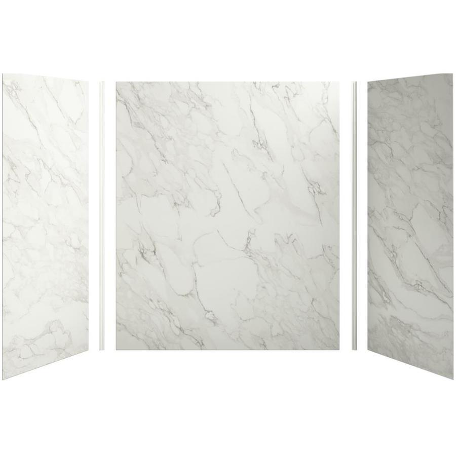 Shop kohler choreograph fiberglass and plastic composite for Pvc sheets for bathroom walls