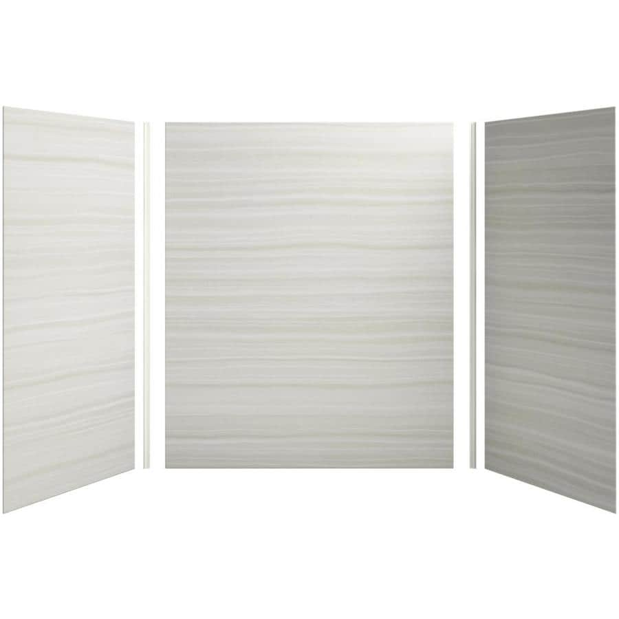KOHLER Choreograph Veincut Dune Shower Wall Surround Side and Back Panels (Common: 60-in x 36-in; Actual: 72-in x 60-in x 36-in)