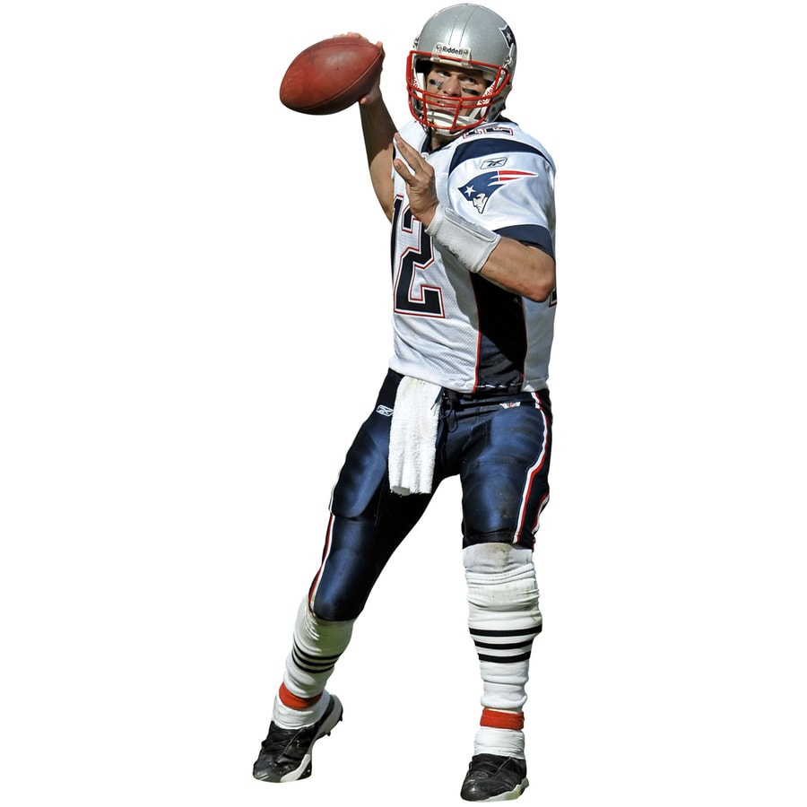 shop fathead nfl sports wall stickers at lowes com
