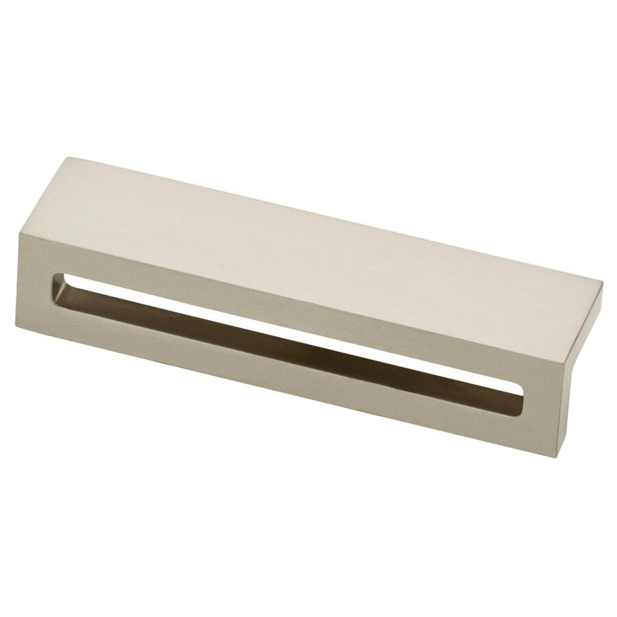 Motiv 96mm Center-to-Center Satin Nickel Rectangular Cabinet Pull