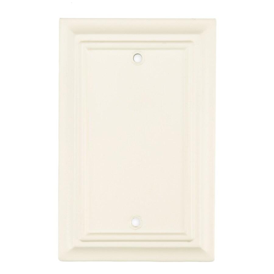 Brainerd 1-Gang Cream Blank Wall Plate