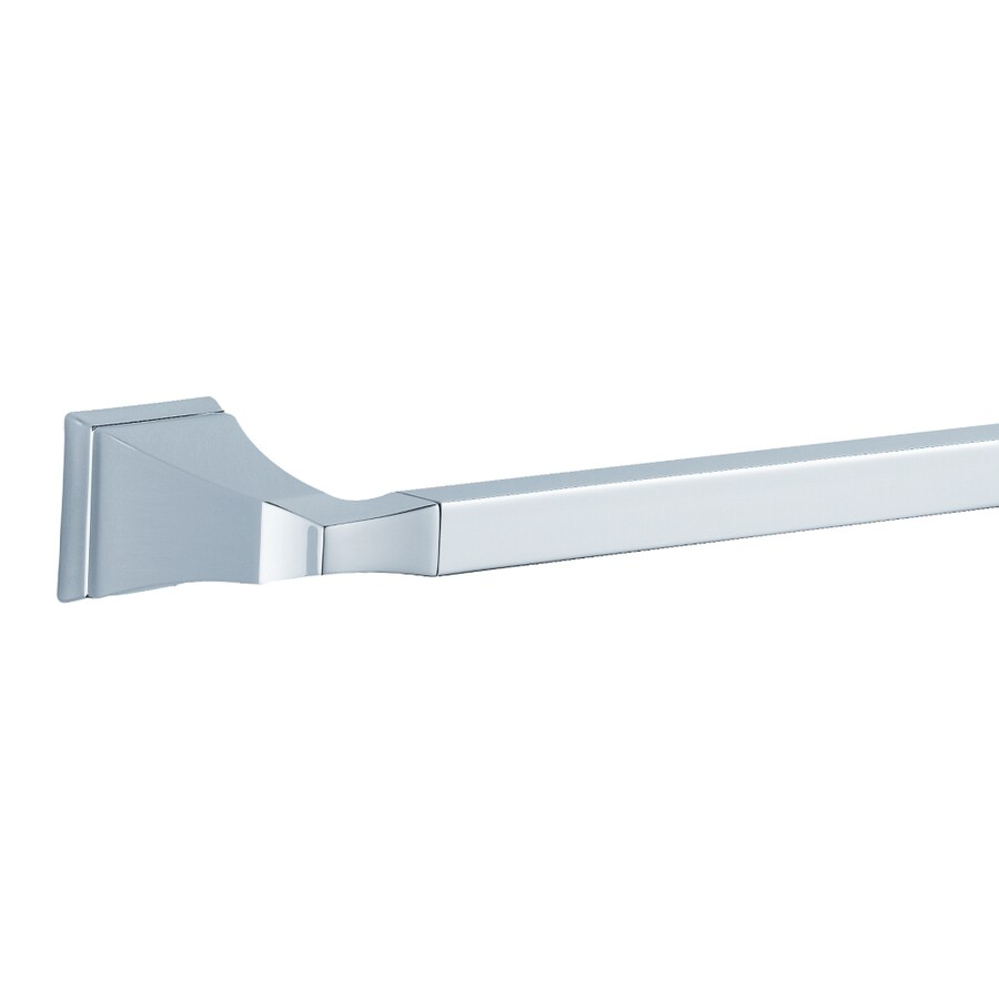 DELTA Dryden Polished Chrome Single Towel Bar (Common: 18-in; Actual: 19.75-in)