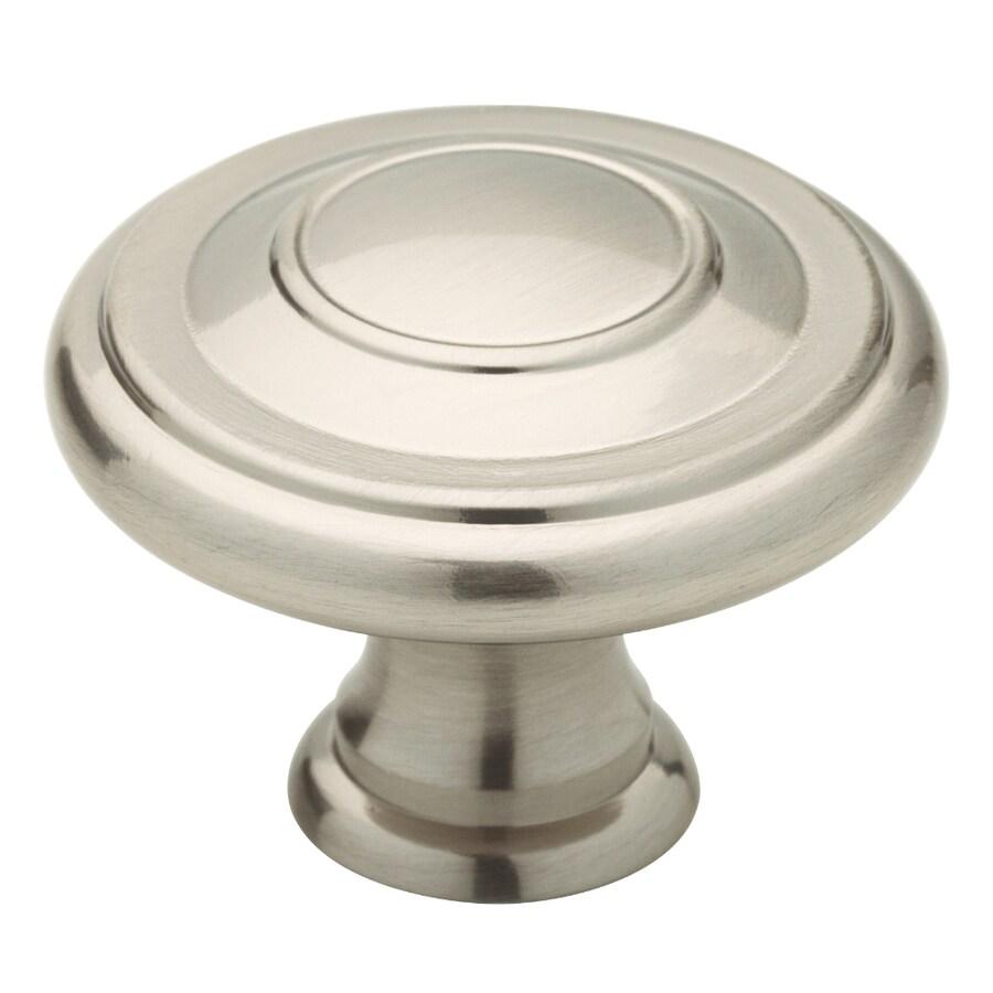 Brainerd Satin Nickel Round Cabinet Knob