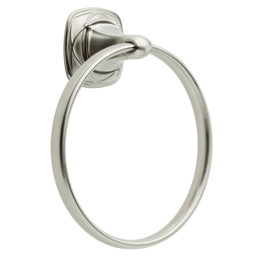 DELTA Celice Brushed Nickel Wall Mount Towel Ring