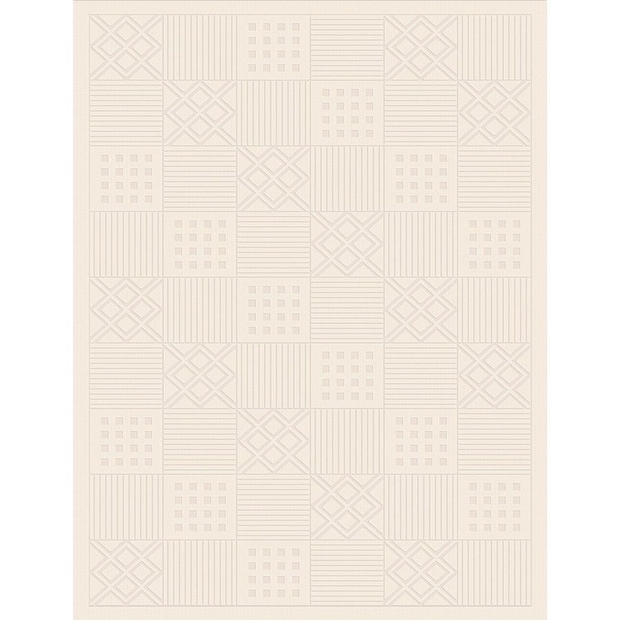 Regence Home Cheshire Rectangular Cream Geometric Indoor/Outdoor Woven Wool Area Rug (Common: 4-ft x 6-ft; Actual: 4-ft x 6-ft)
