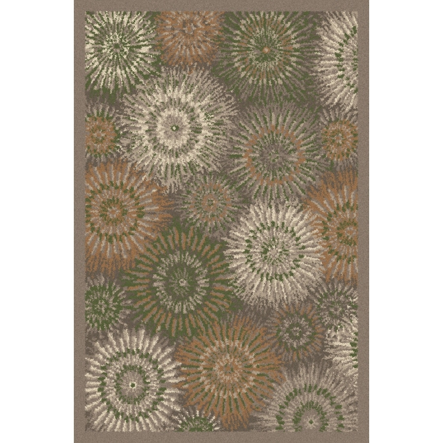 Regence Home Wellington Earth Rectangular Indoor Machine-Made Area Rug (Common: 4 x 6; Actual: 48-in W x 72-in L)