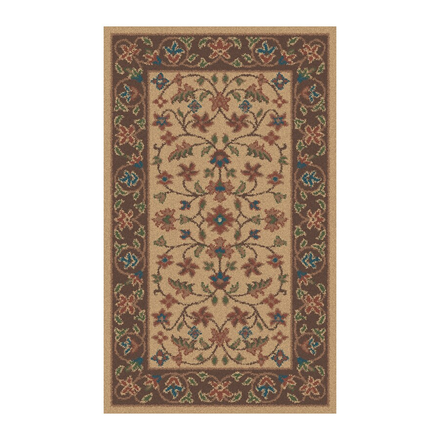 Regence Home Wellington Stone Rectangular Indoor Machine-Made Throw Rug (Common: 3 x 5; Actual: 36-in W x 60-in L)