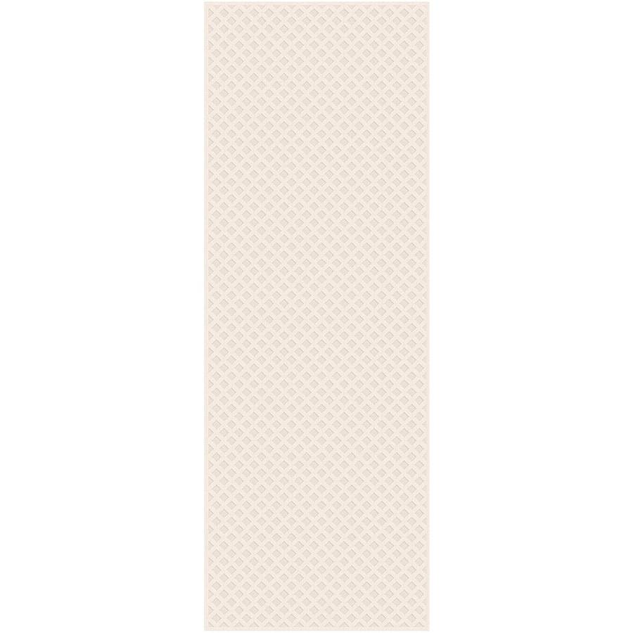 Regence Home Cheshire Ivory Rectangular Indoor Machine-Made Runner (Common: 2 x 10; Actual: 26-in W x 120-in L)