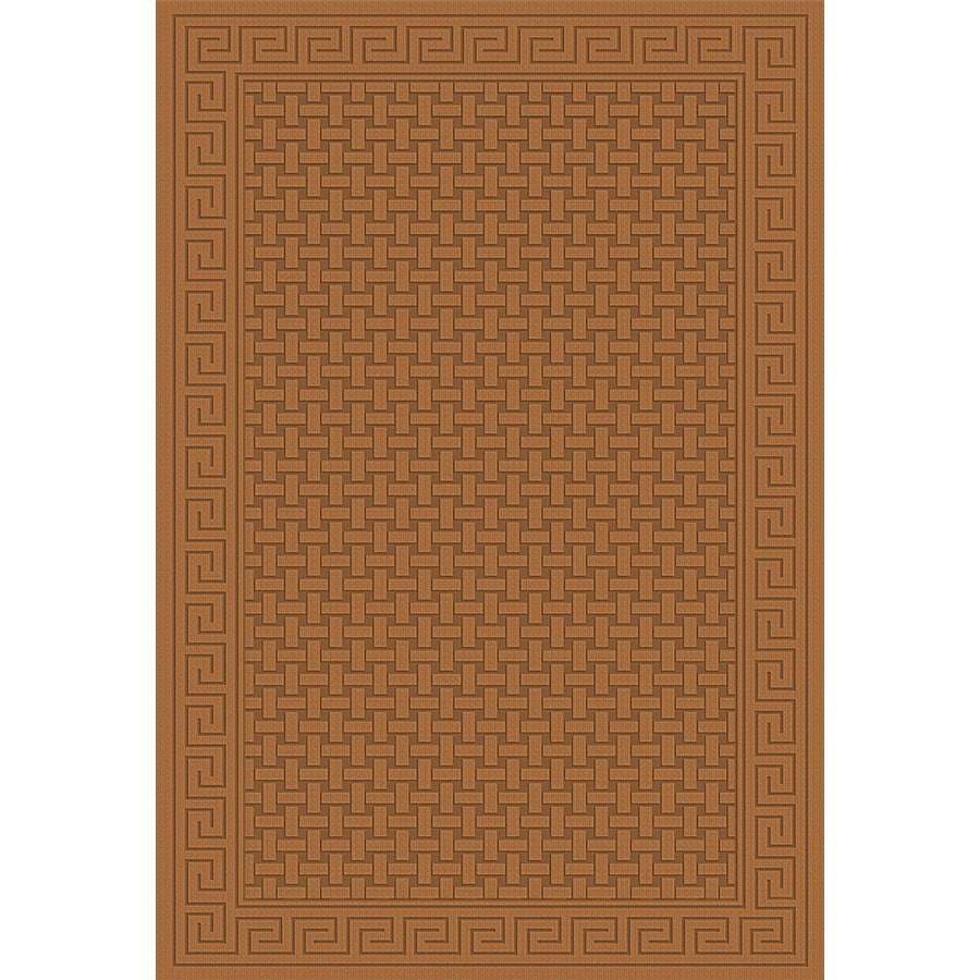 Regence Home Cheshire Nutmeg Rectangular Indoor Machine-Made Area Rug (Common: 4 x 6; Actual: 48-in W x 72-in L)