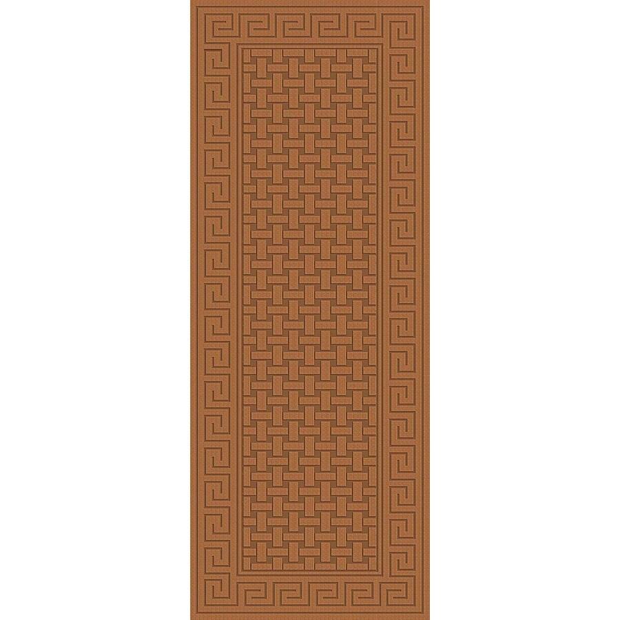 Regence Home Cheshire Brown Indoor/Outdoor Woven Wool Runner (Common: 2-ft x 8-ft; Actual: 2.166-ft x 8-ft)
