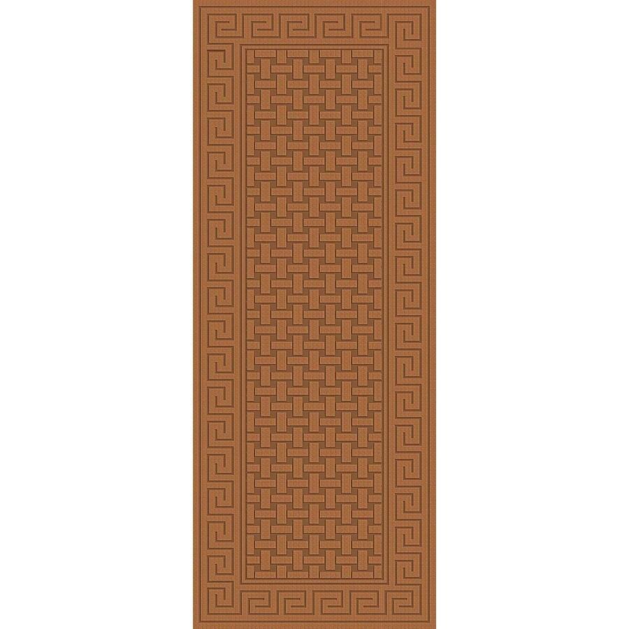 Regence Home Cheshire Nutmeg Rectangular Indoor Machine-Made Runner (Common: 2 x 10; Actual: 26-in W x 120-in L)