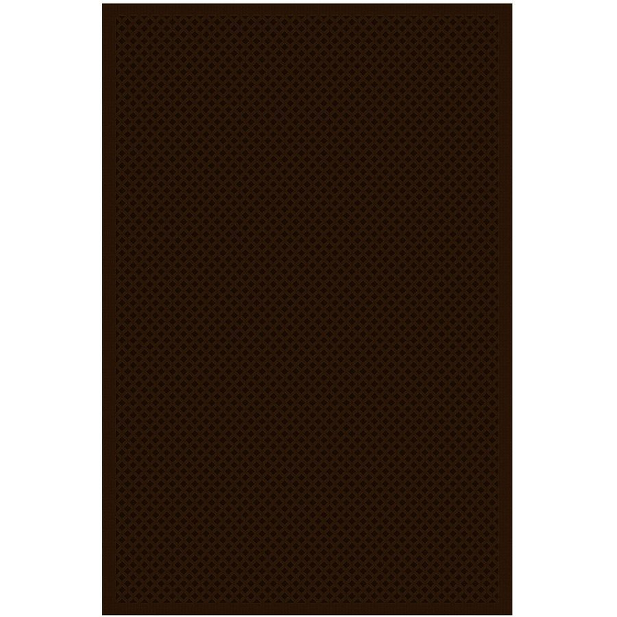 Regence Home Cheshire Chocolate Rectangular Indoor Machine-Made Area Rug (Common: 8 x 10; Actual: 96-in W x 120-in L)