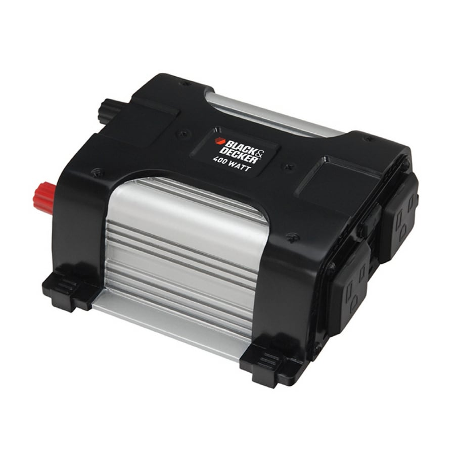 Shop BLACK & DECKER 400-Watt Power Inverter at Lowes.com
