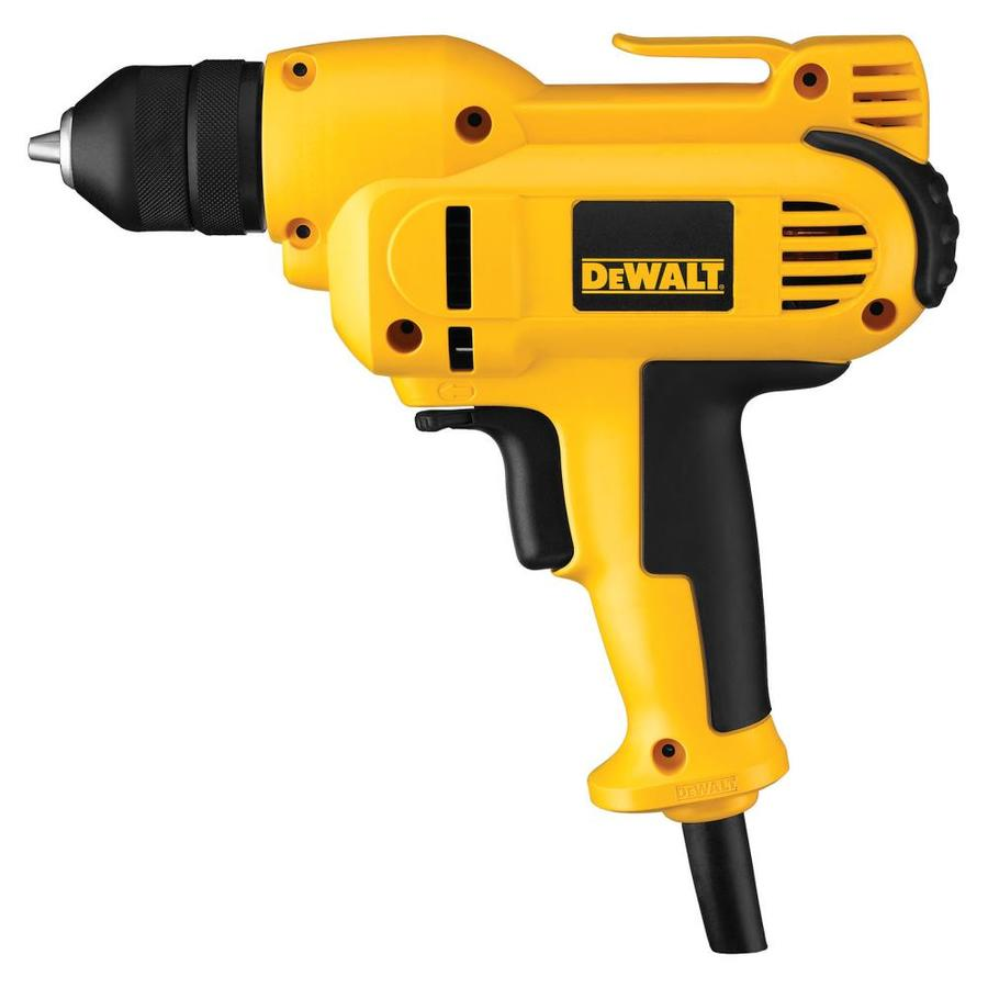 DEWALT 8-Amp 3/8-in Keyless Corded Drill with Case