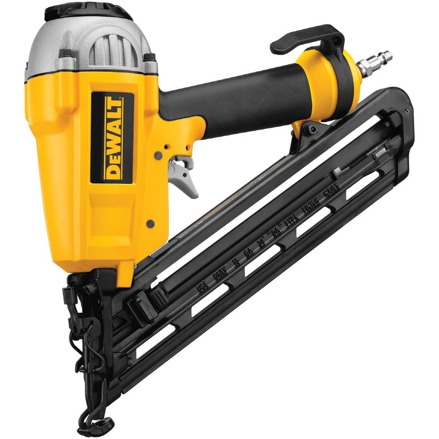 DEWALT 15-Gauge Roundhead Finishing Pneumatic Nailer