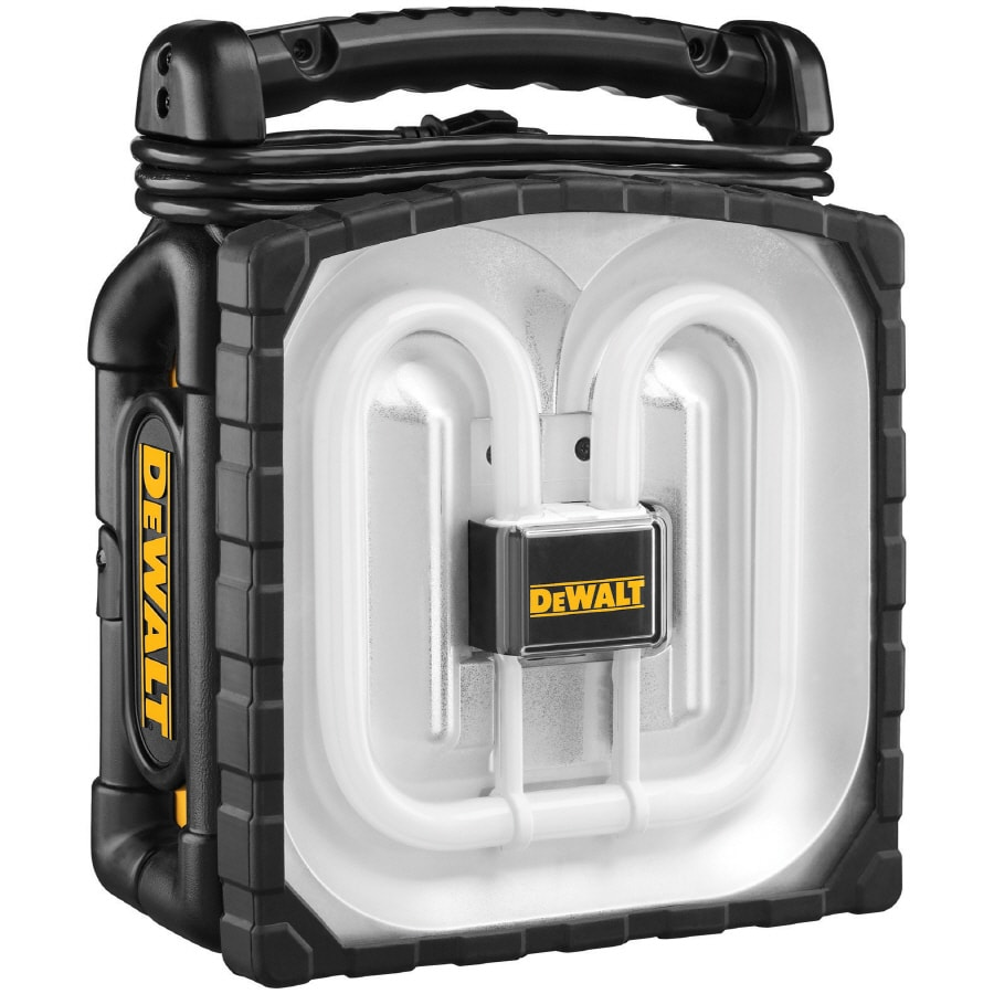 DEWALT Fluorescent Spotlight Battery Flashlight