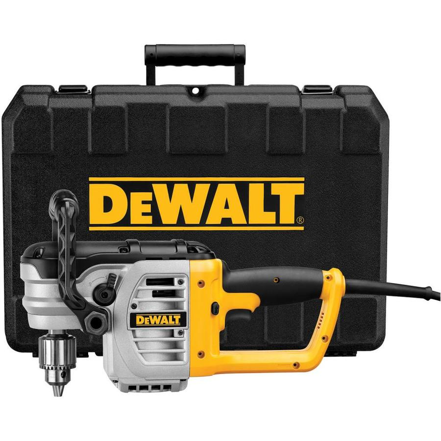 DEWALT 11-Amp 1/2-in Keyed Corded Drill with Case