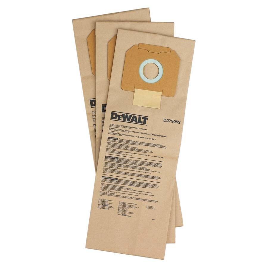 DEWALT 3-Pack HEPA Paper Filter