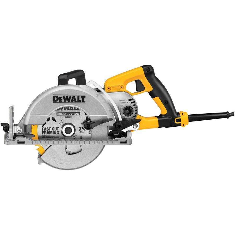 DEWALT 15-Amp 7-1/4-in Worm Drive Corded Circular Saw