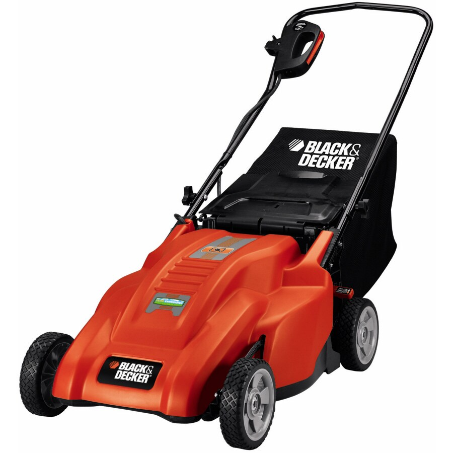 BLACK & DECKER 12-Amp 18-in Corded Electric Push Lawn Mower