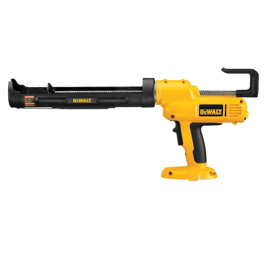 Shop DEWALT 18-Volt Cordless Caulk Gun (Bare Tool) at ...