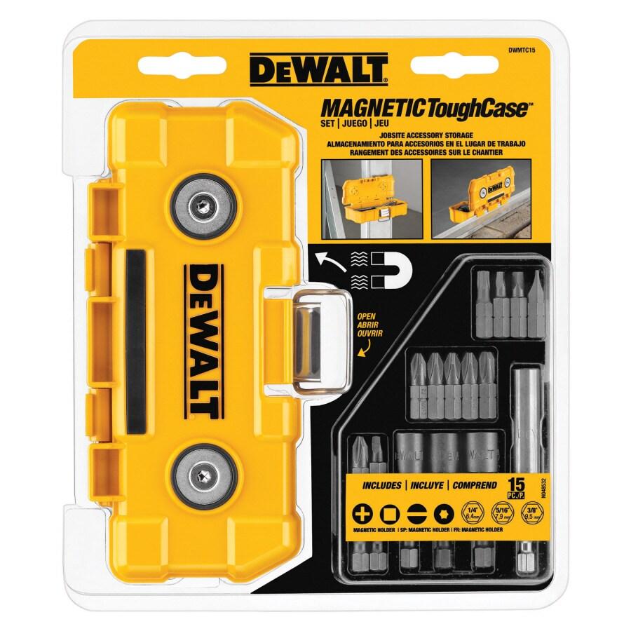 DEWALT 15Pc Magnetic Tough Case