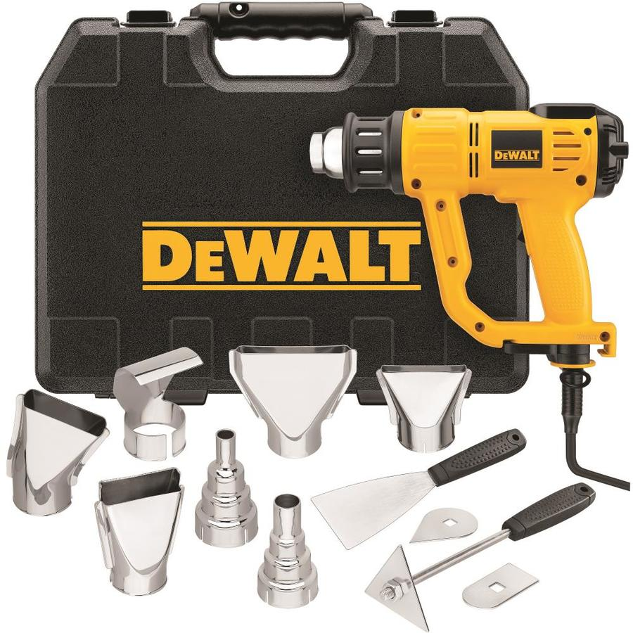 DEWALT Heat Gun Kit with LCD Display