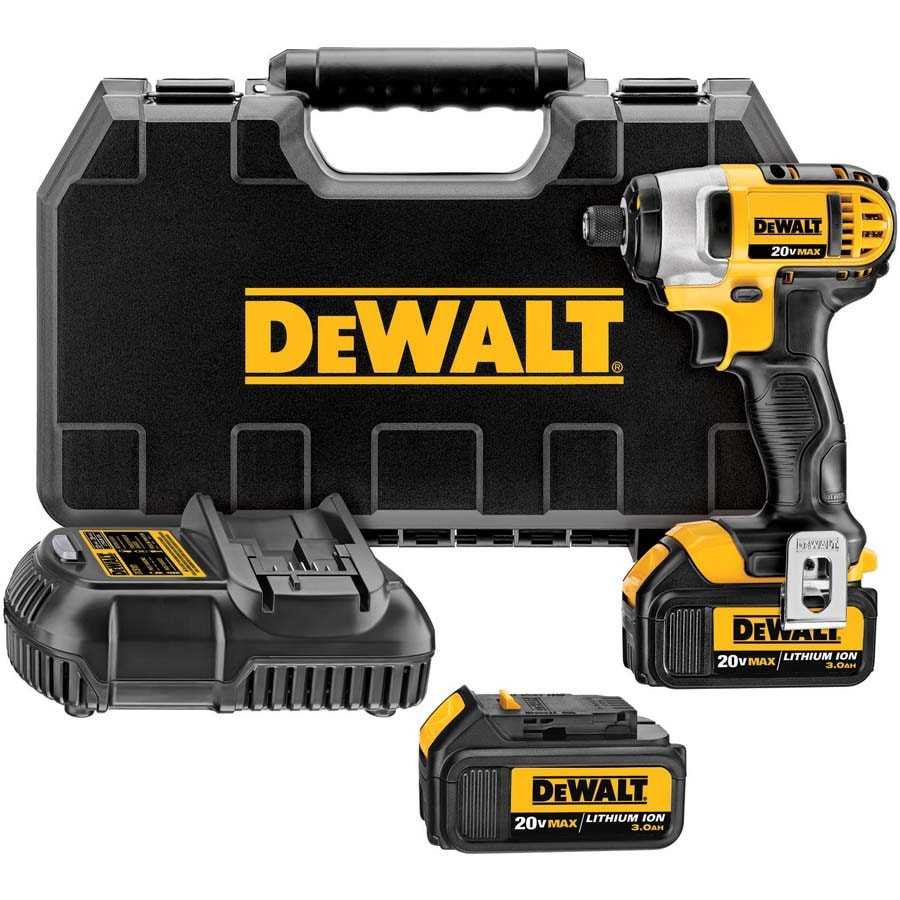 DEWALT 20-Volt Max 1/2-in Detent Pin Drive Cordless Impact Wrench
