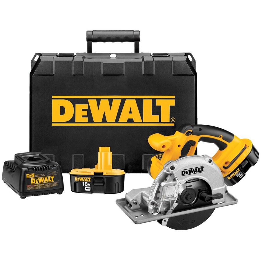 DEWALT 18-Volt 5-1/2-in Cordless Circular Saw