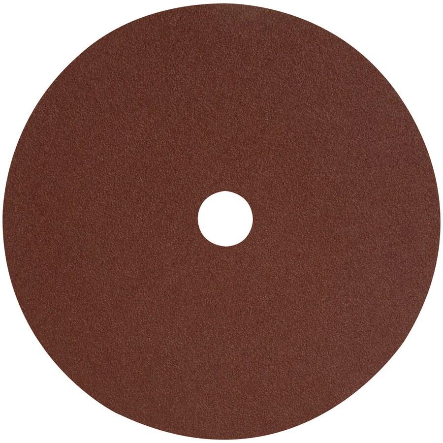 DEWALT 3-Pack 7-in W x 7-in L 24-Grit Commercial Fiber Resin Disc Sandpaper