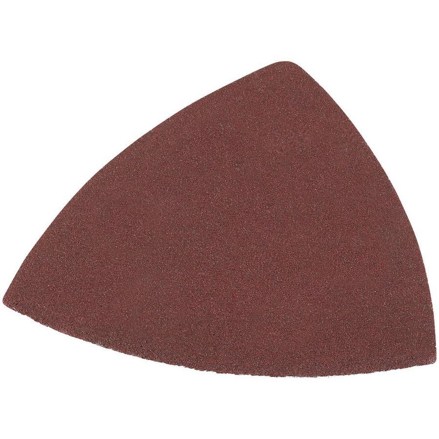 DEWALT 12-Pack 3.75-in W x 3.75-in L 220-Grit Industrial Oscillating Sandpaper