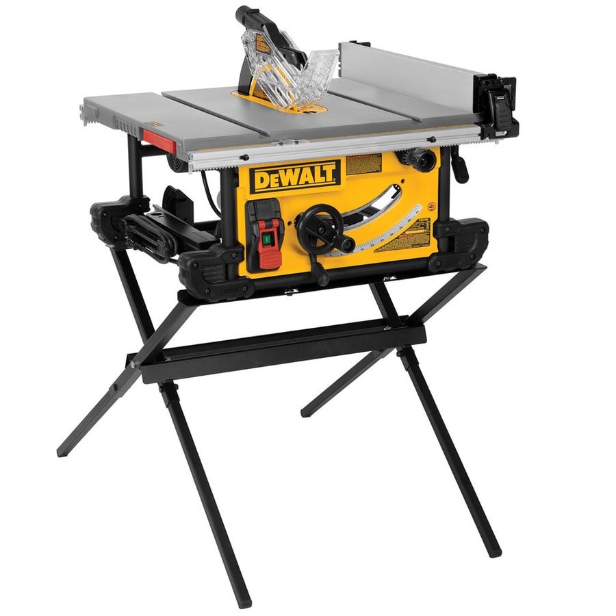 Shop dewalt 15 amp 10 in table saw at for 10 table saws